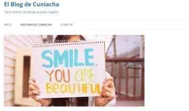 blog de cuniacha