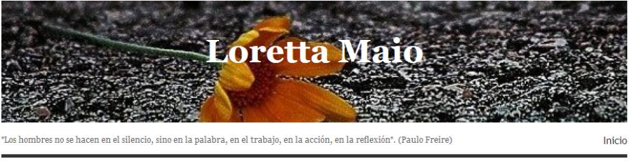 Loretta Maio banner